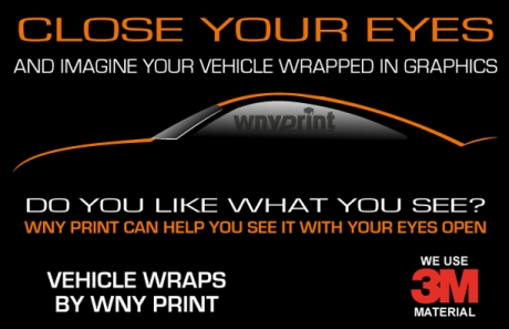 Vehicle Wraps by WNY Print