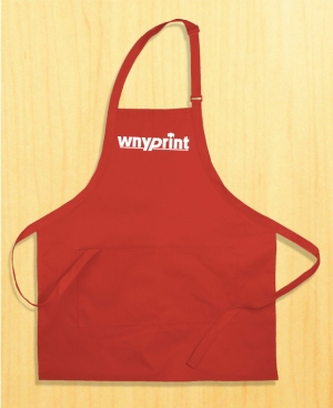 Screen Printed Aprons