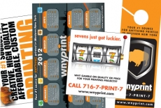 POSTCARDS, BROCHURES AND MARKETING MATERIALS