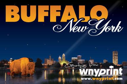 WNY Print Buffalo Postcard image